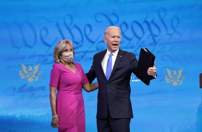 [Monde] « Il est temps de tourner la page » : Joe Biden élu président des Etats-Unis par les grands électeurs