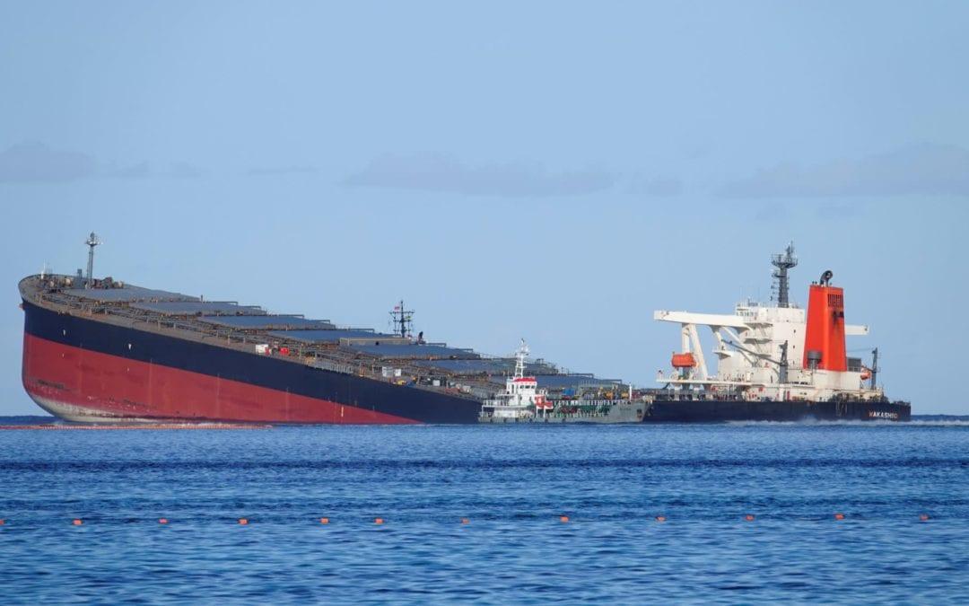 Court of Investigation : 16 membres d'équipage du MV Wakashio appelés à la barre aujourd'hui