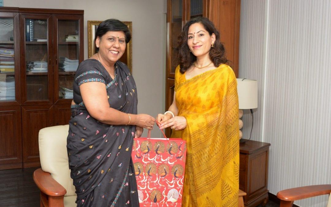 Nandini Singla : « Développer le secteur de l'éducation entre Maurice et l'Inde »