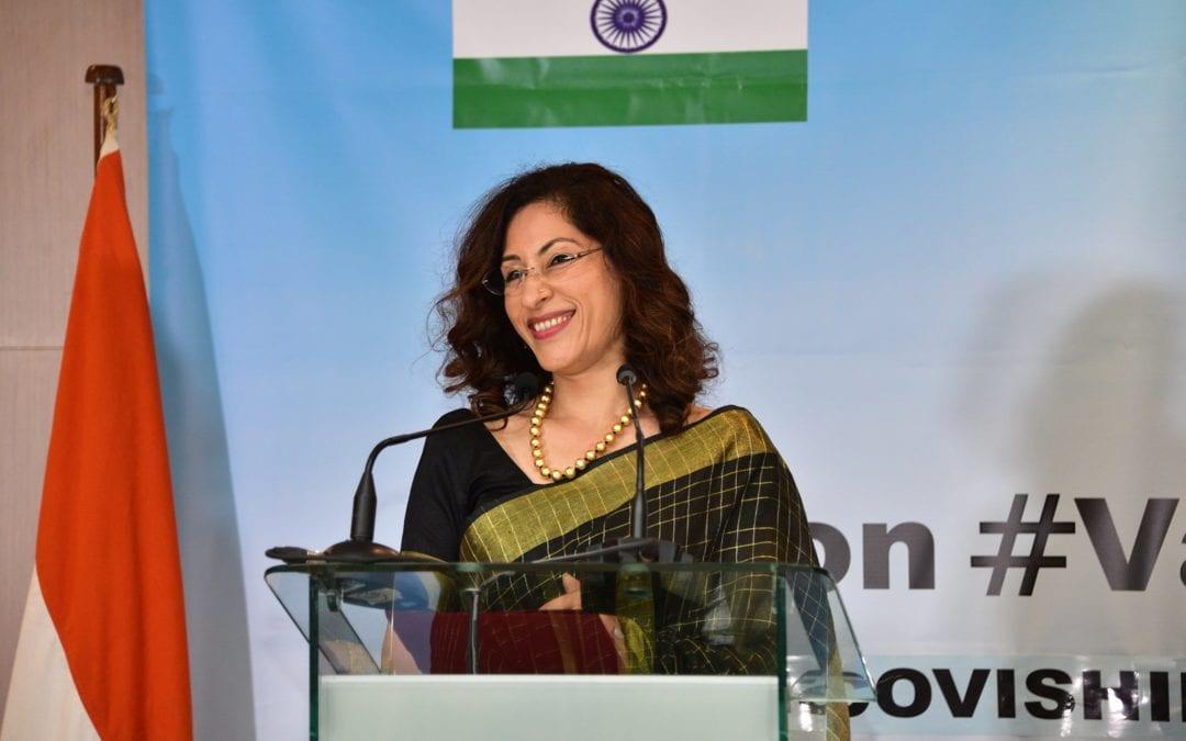 La haut-commissaire de l'Inde à Maurice, Nandini Singla : « Zordi se enn gran zour pour Maurice et l'Inde »