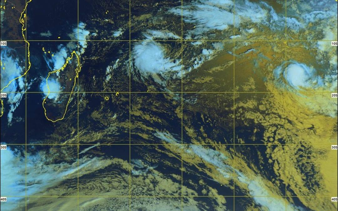 Perturbation tropicale : Le système pourrait se développer davantage durant le week-end