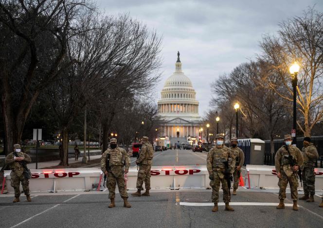 [Monde] Washington retranchée avant la cérémonie d'investiture du président américain Joe Biden