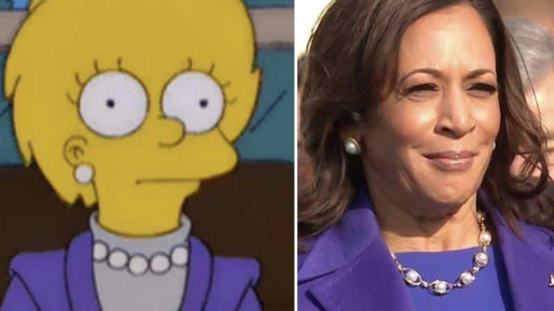 [Monde] Joe Biden et Kamala Harris succèdent à Trump : Les Simpson avaient tout prévu