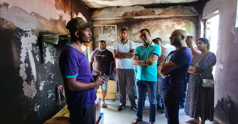 Un élan de solidarité pour Sandip Nunkoo lancé