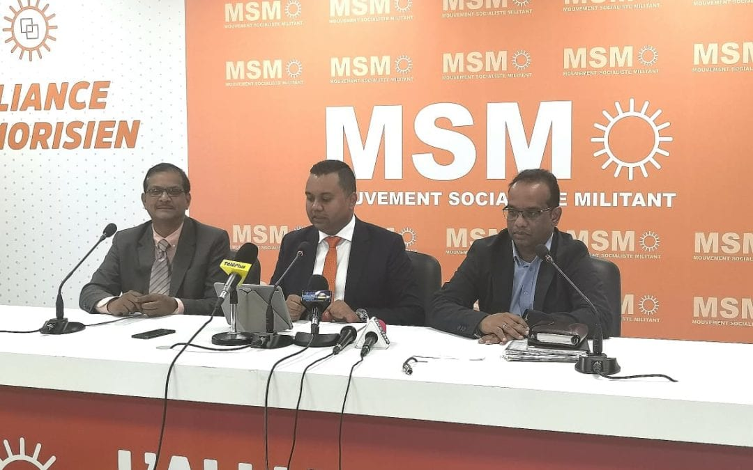 Pétition électorale : Les trois élus du n° 9 décortiquent le retrait d'Anil Bachoo