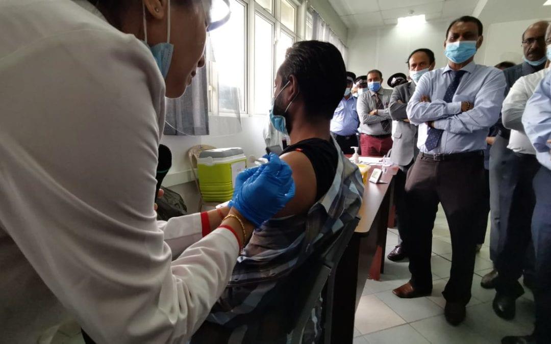 Vaccination anti-Covid : Exercice de simulation à J-1