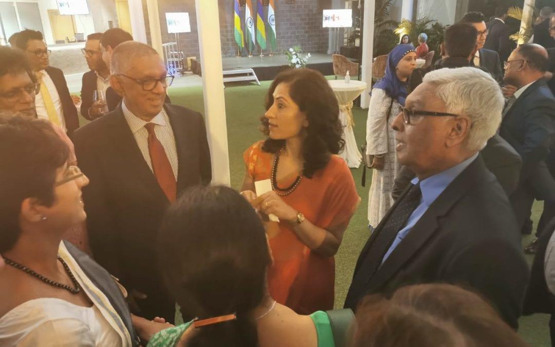 [En images] Diplomatie : Gouvernement et opposition présents en force pour la première réception de Nandini Singla