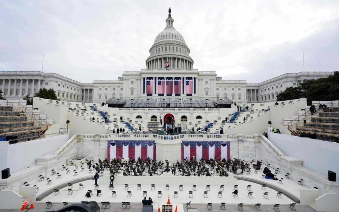 [Monde] Pour l'investiture de Joe Biden, un cordon sanitaire et sécuritaire déployé à Washington