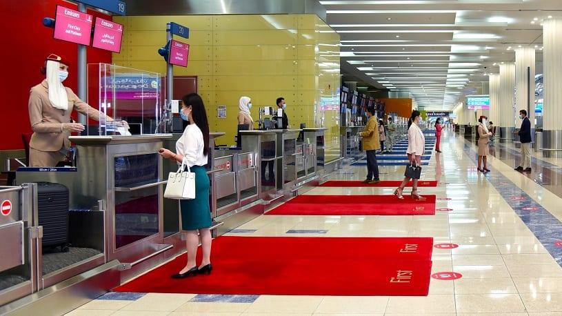 Emirates teste l'IATA Travel Pass, une plate-forme numérique pour les mises à jour et la vérification des tests COVID-19