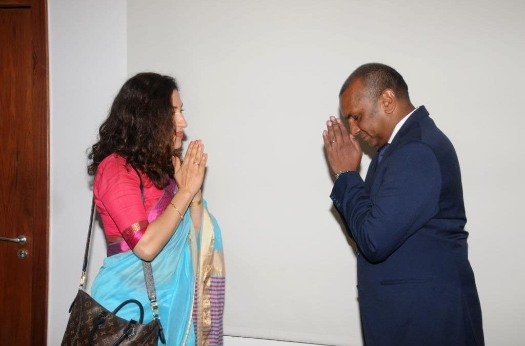 Renganaden Padayachy : « La fusion entre Maurice et l'Inde souhaitée sur de nombreux projets »