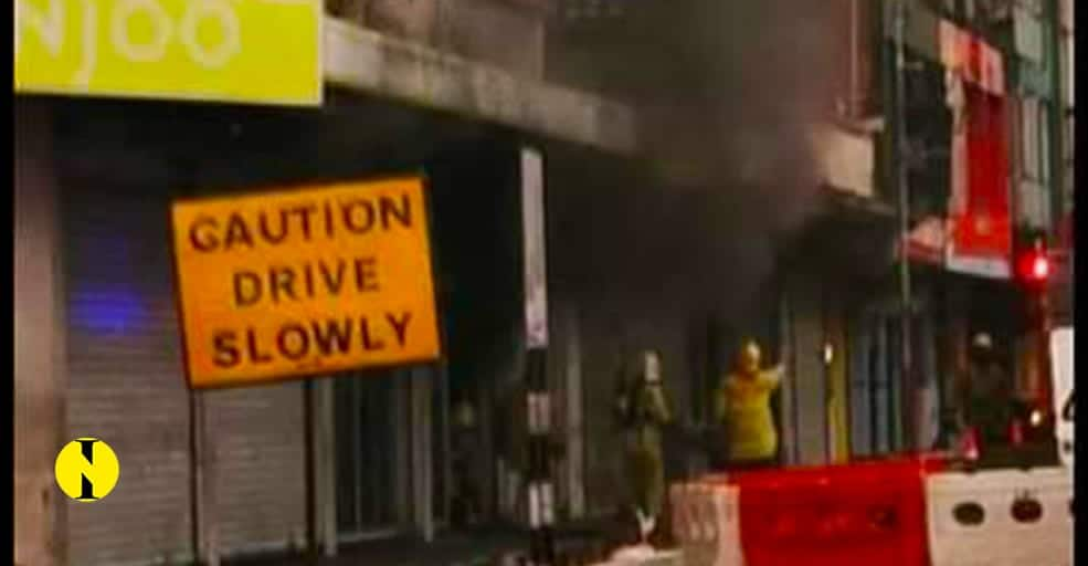 Incendie au magasin Manjoo à Quatre-Bornes