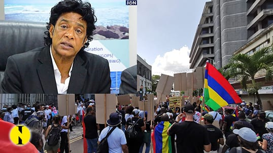 """Nando Bodha a répondu présent à la """"marche citoyenne"""" contre le gouvernement"""