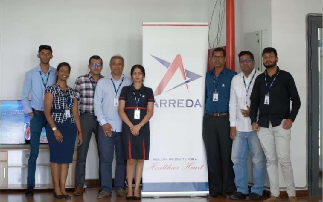 Le lancement offciel d`Arreda Technologies (Mtius) à Jin Fei Smart City