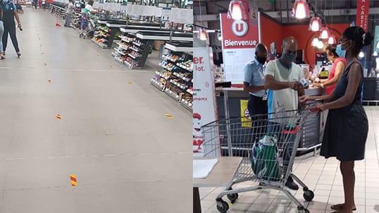 Confinement : Super U renforce les mesures sanitaires dans ses magasins