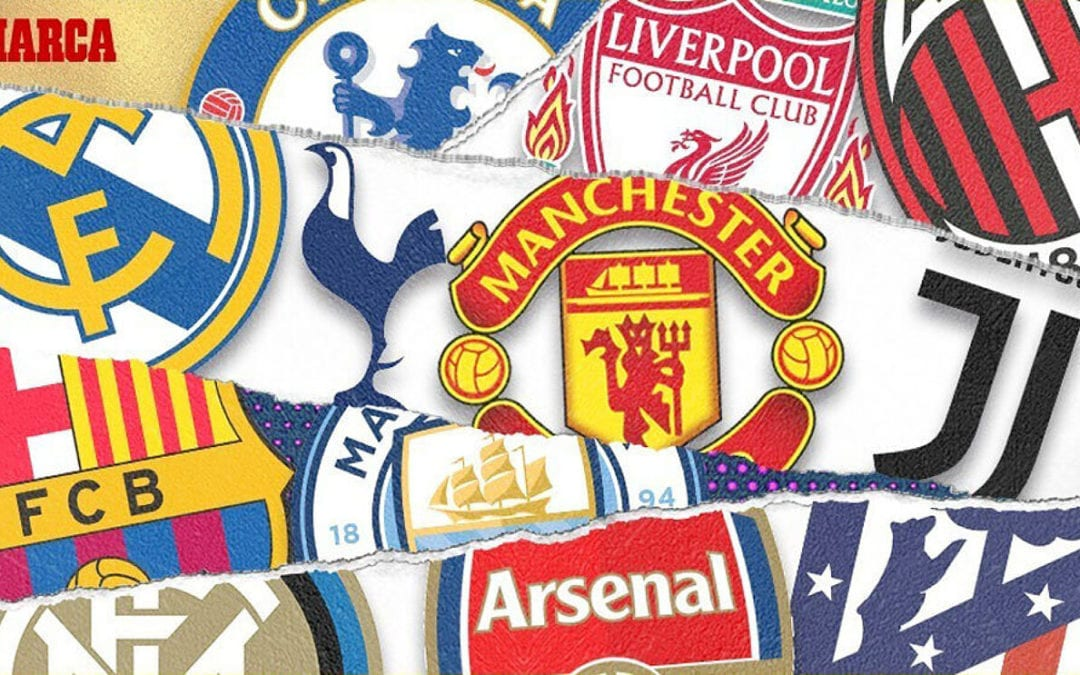Mises à jour de la Super League européenne