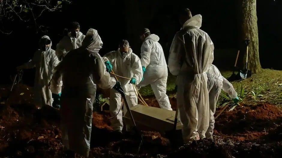 [Monde] Plus de 4000 morts de la COVID en 24h au Brésil, un record