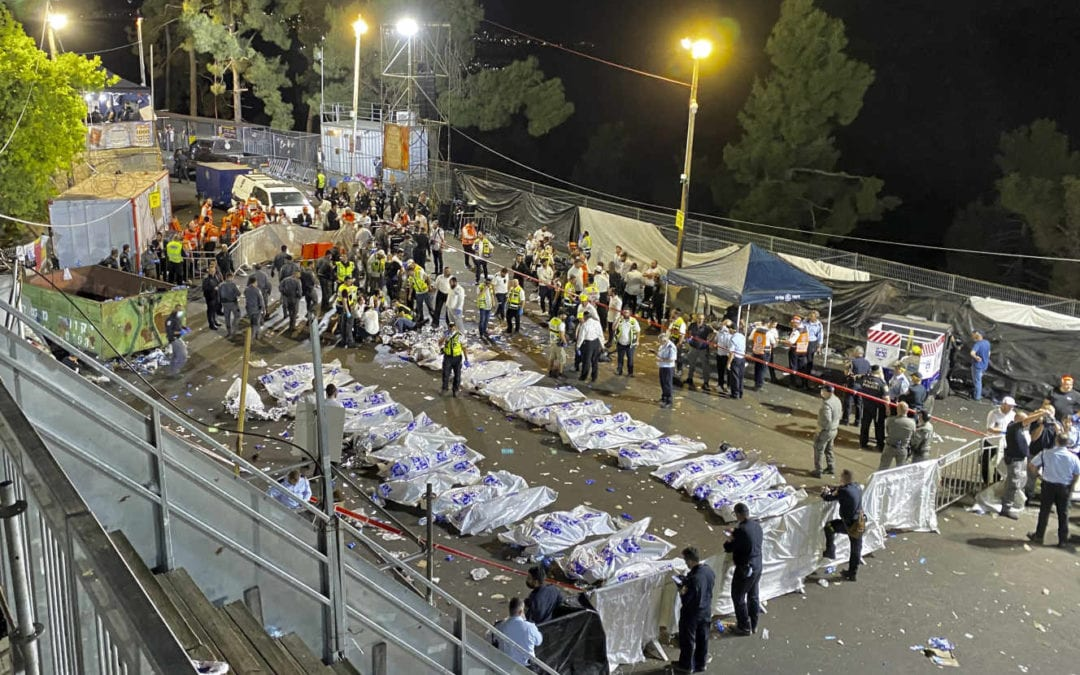 En Israël, une bousculade géante fait plus de 40 morts lors d'un pèlerinage juif