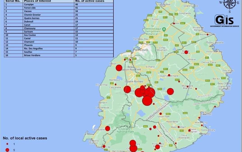 Zéro cas détectés: 1687 tests PCR à Bambous et Chamarel, 384 tests aléatoires à Chemin Grenier, Surinam et Baie du Cap