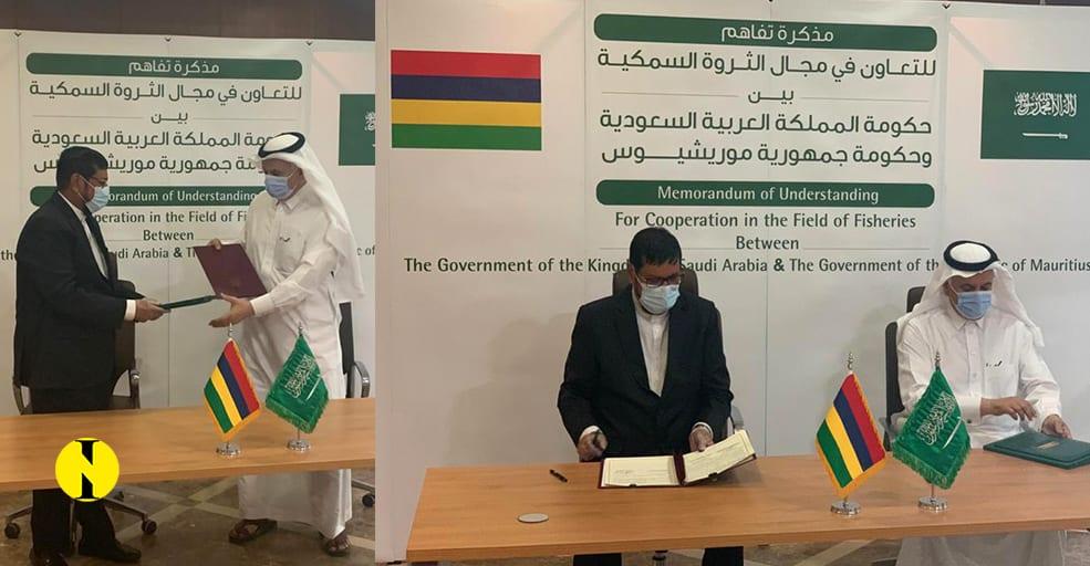 L'Arabie saoudite et Maurice signent un MoU sur la pêche