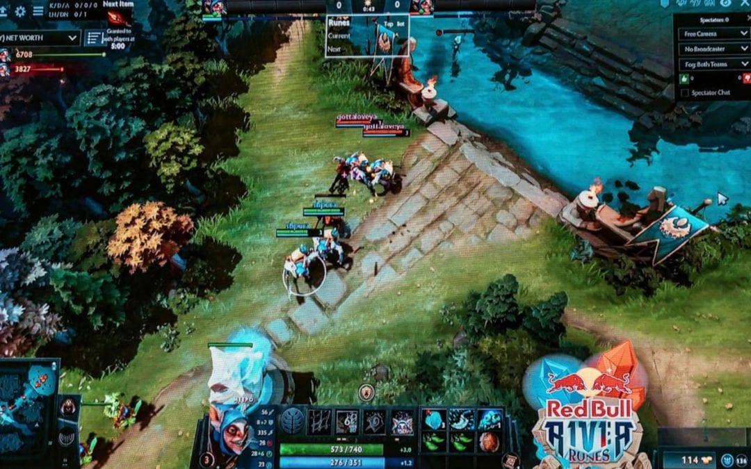 Red Bull River Runes 2021 : Compétition de jeu vidéo en ligne
