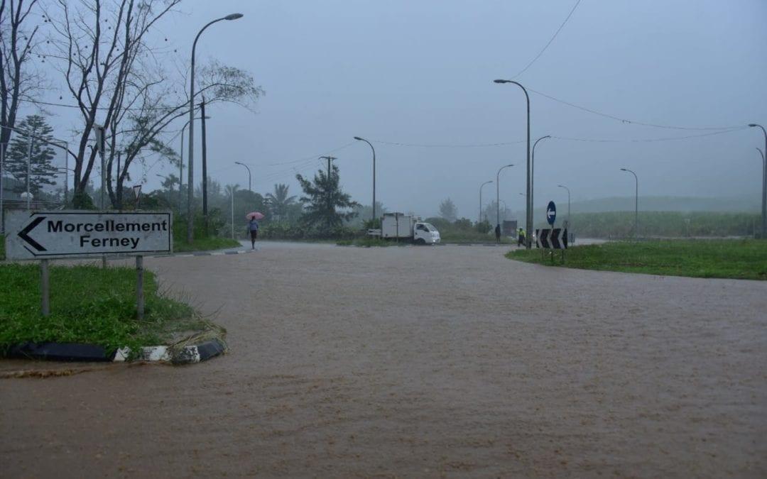 Météo : Aucun avertissement de forte pluies n'est en vigueur à Maurice