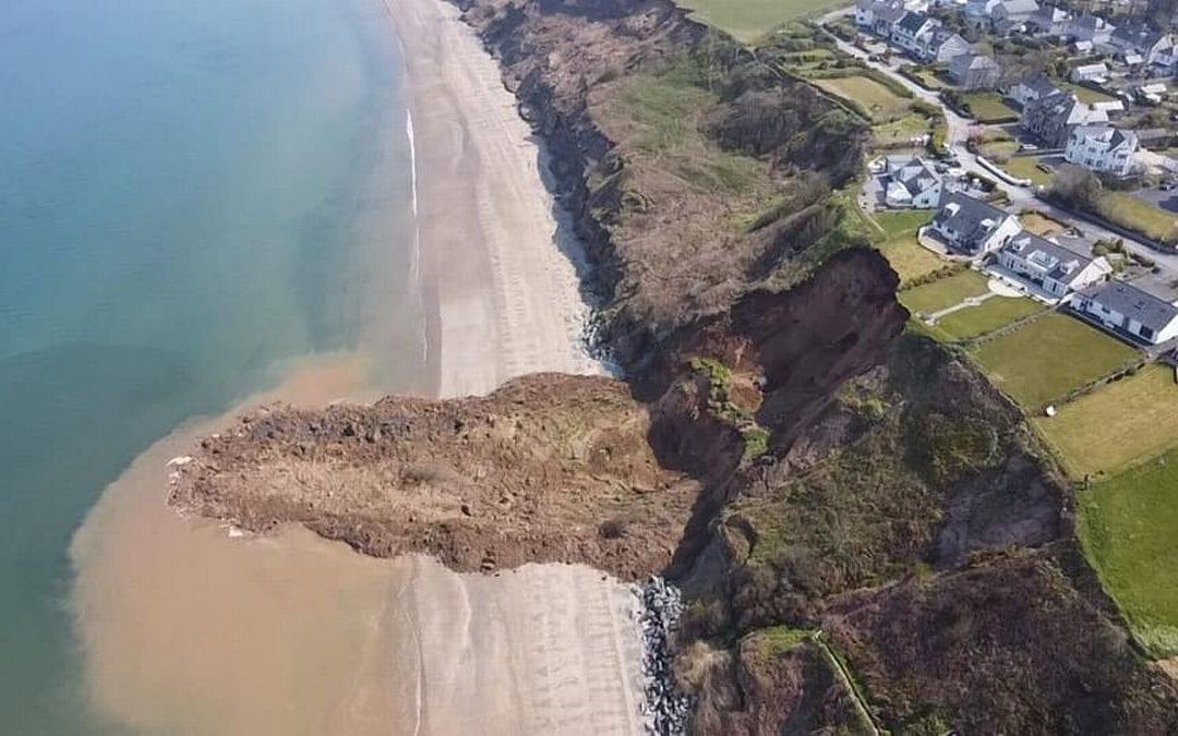 Glissement de terrain au Pays de Galles