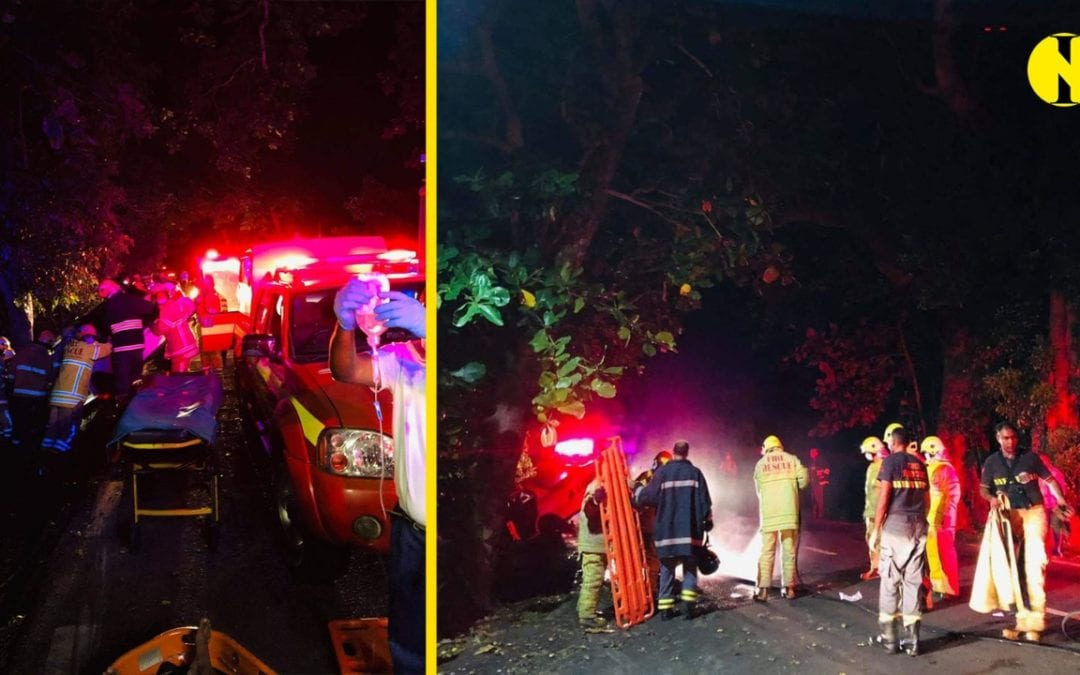 Accident à Poste-de-Flacq : 6 blessés dont 1 grave, test d'alcoolémie positif pour le chauffeur