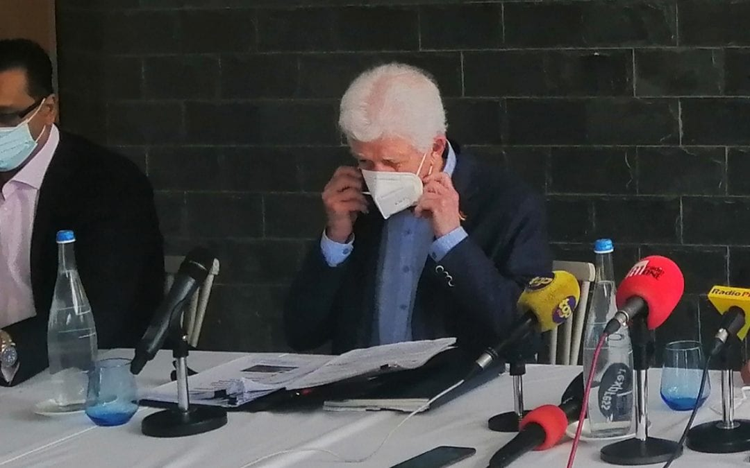 Paul Bérenger réclame la démission du Dr Jagutpal