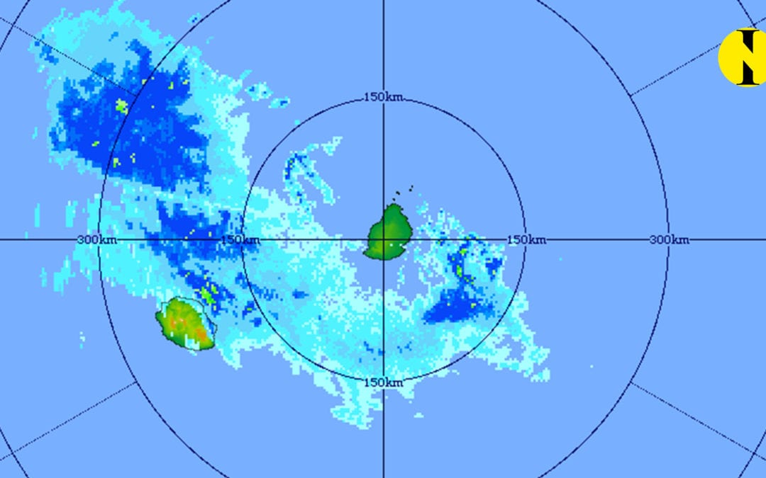 Un avis de fortes pluies reste en vigueur sur la partie Sud de Maurice