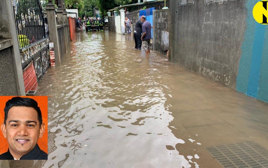 Le PPS Prakash Ramchurrun: La LDA aide à résoudre les problèmes résultant des inondations