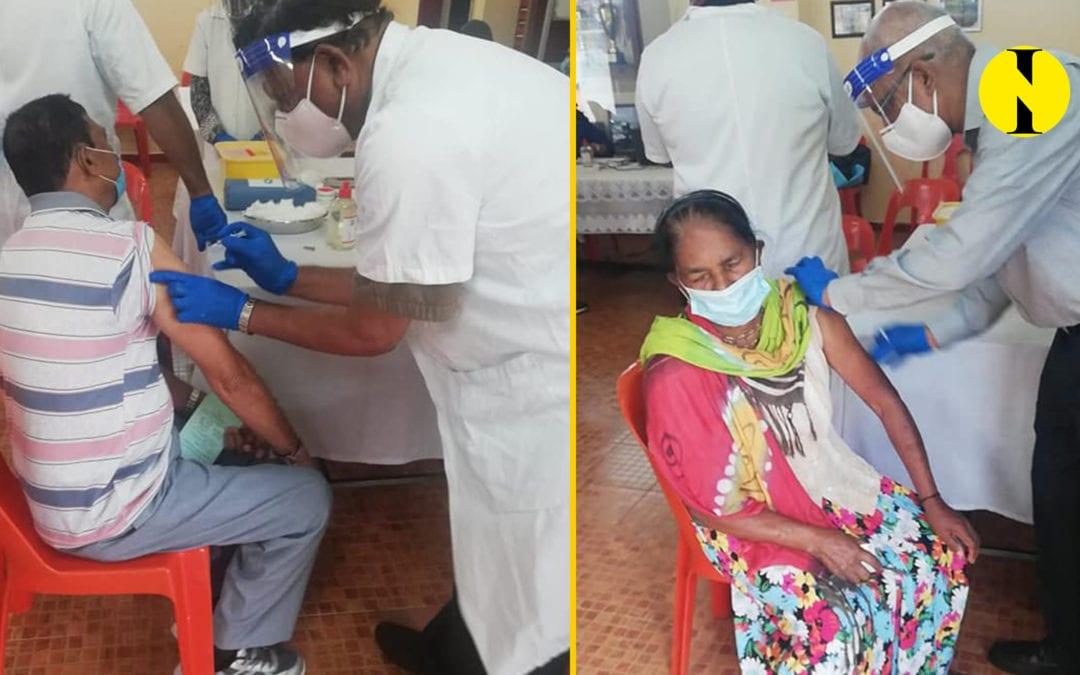 Campagne de vaccination au centre social de Montagne-Blanche