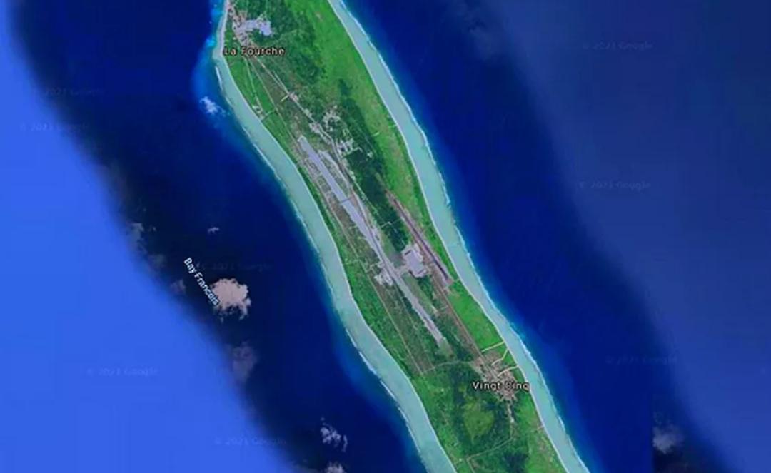 Franceinfo fait mention de l'île d'Agalega comme le Diego Garcia de l'Inde