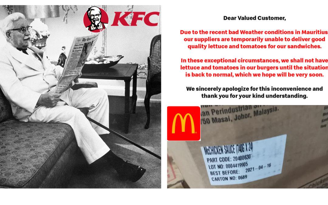 KFC vs McDonald's : La guerre des burgers aura-t-elle lieu ?