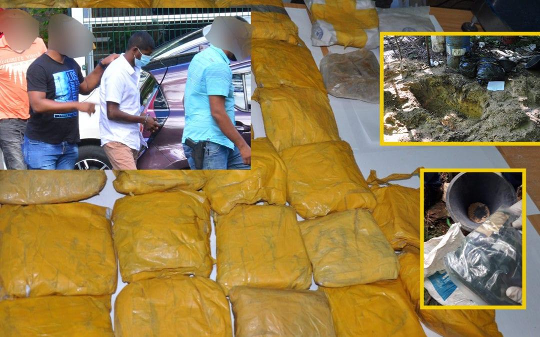 Saisie record de Rs 3,6 milliards de drogue : Ritesh Gourraby a comparu en cour de Mapou ce lundi