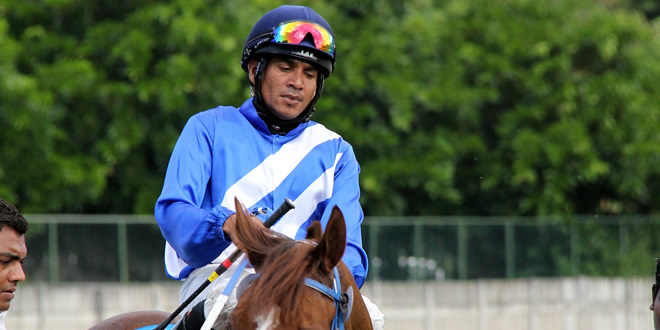 Le jockey Rye Joorawon arrêté pour avoir transgressé la Quarantine Act