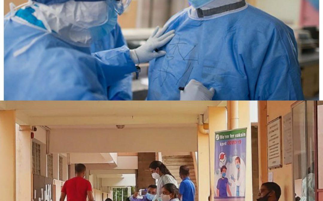 Pandémie : Garantir la sécurité des Frontliners
