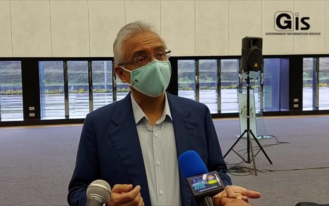 Pravind Jugnauth : « Noun depas 500 000 dimoun vaksine »