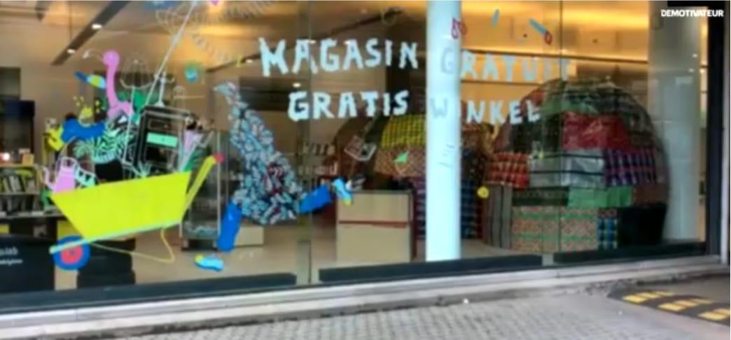 Belgique : Ouverture d'un magasin où tout est gratuit
