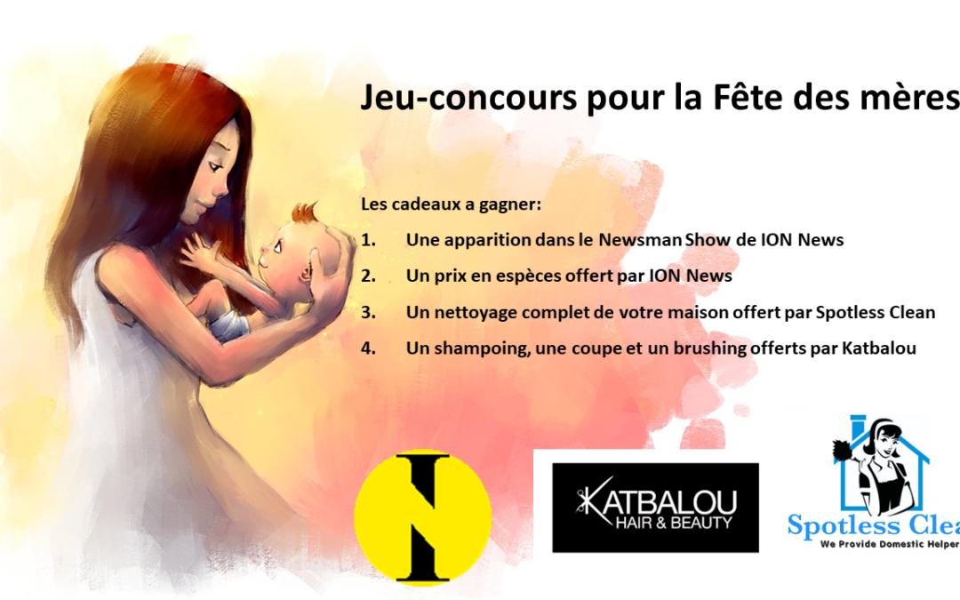 JEU CONCOURS FÊTE DES MÈRES avec Spotless Clean et Katbalou