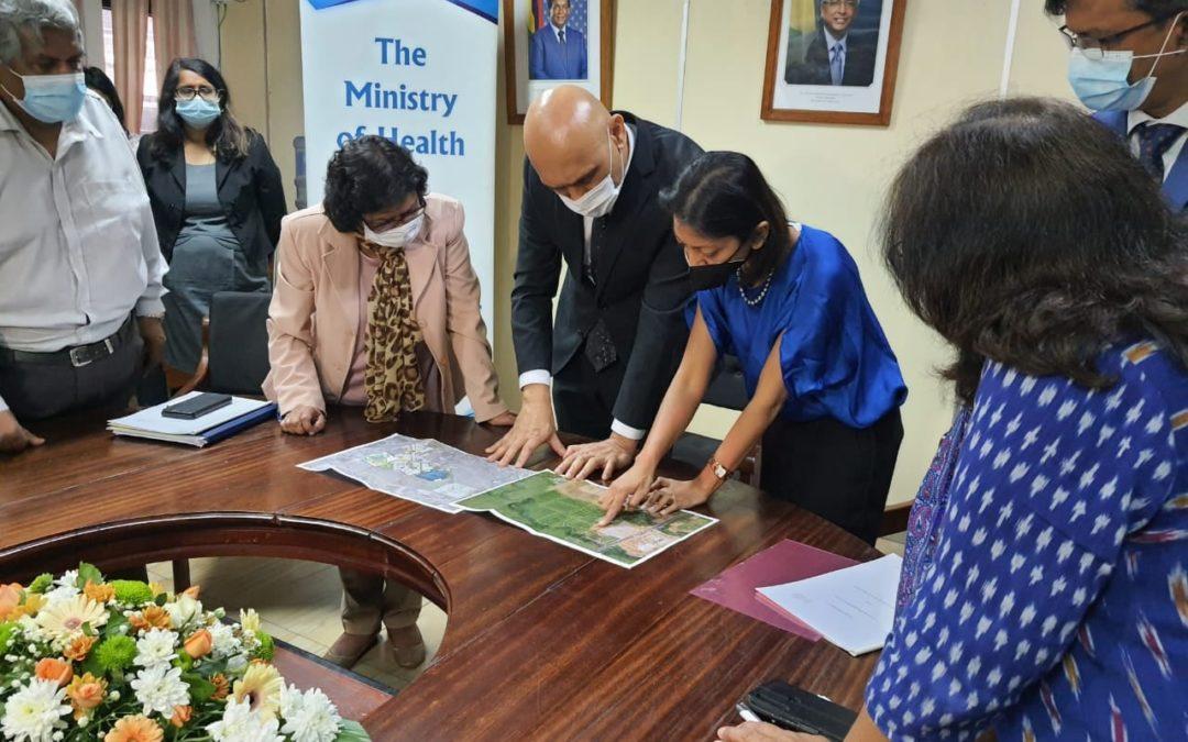 Construction d'un complexe médical à Côte-d'Or : Landscope Mauritius octroie 30 arpents