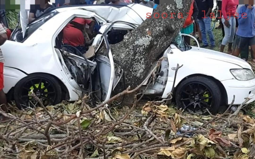 Accident à Baie-du-Cap : Louis Olivier Sebastien Oomajee perd la vie