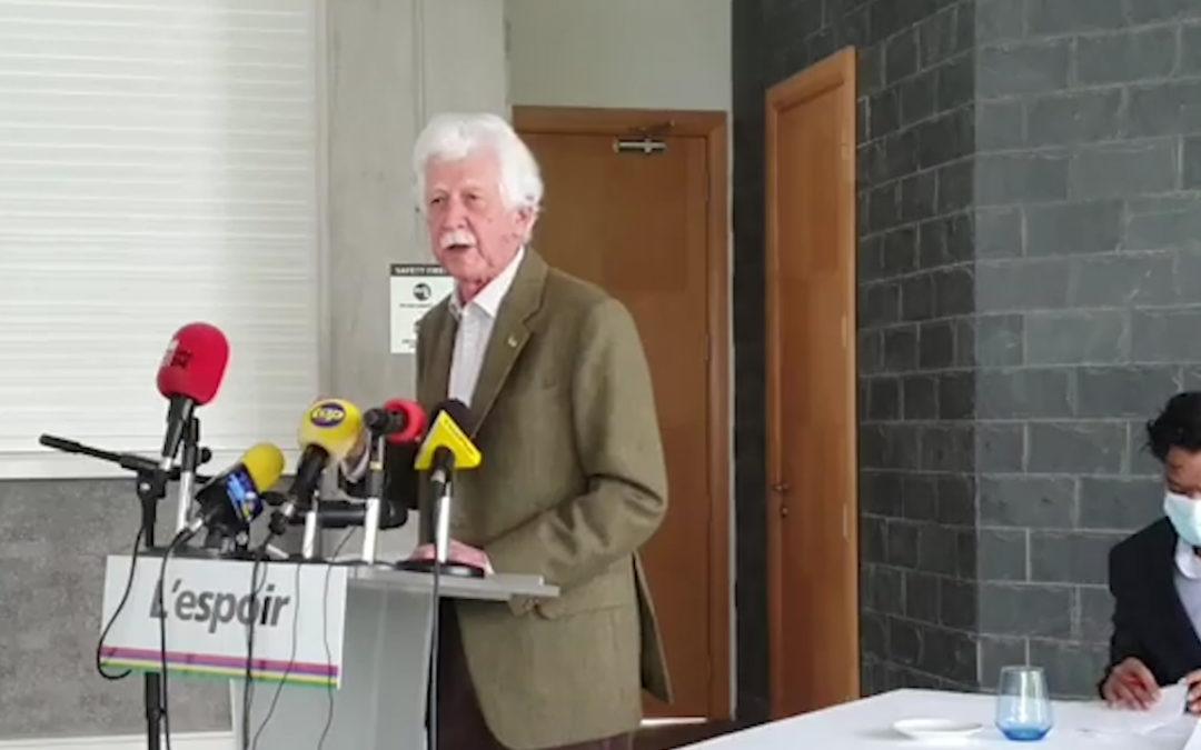 Paul Bérenger : « Zigzag du PTr in casse unité d'action banne partis de l'opposition »