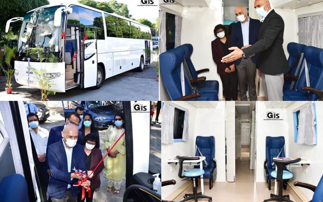 Inauguration d'une Caravane Santé spécialisée dans le dépistage du VIH/sida