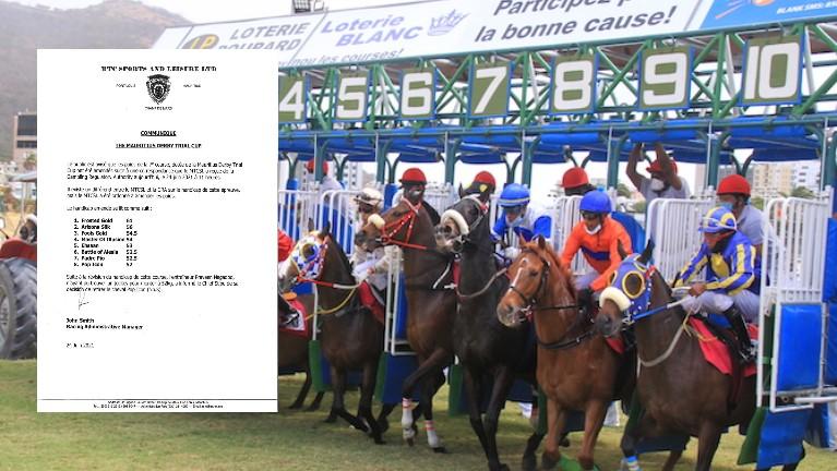 [Championnat des 4 ans] Le MTCSL a été ordonnée par la GRA de revoir les poids des chevaux