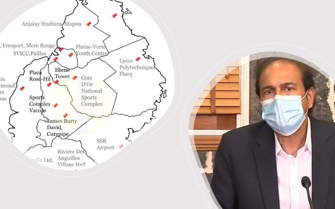En une: Objectif 60 % : 15 centres de vaccination pour relancer la campagne
