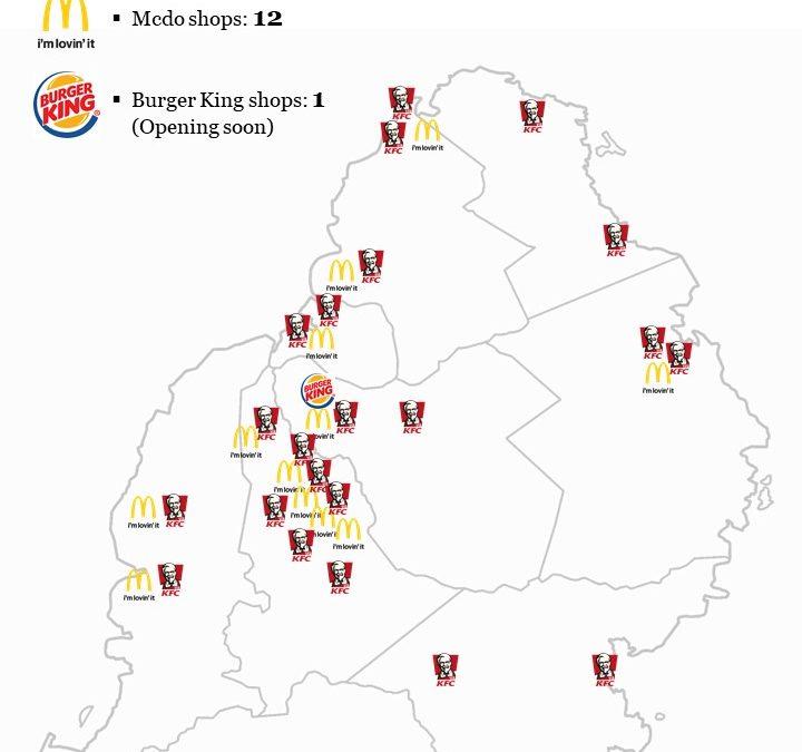 Géants du fast-food:  La guerre du positionnement stratégique