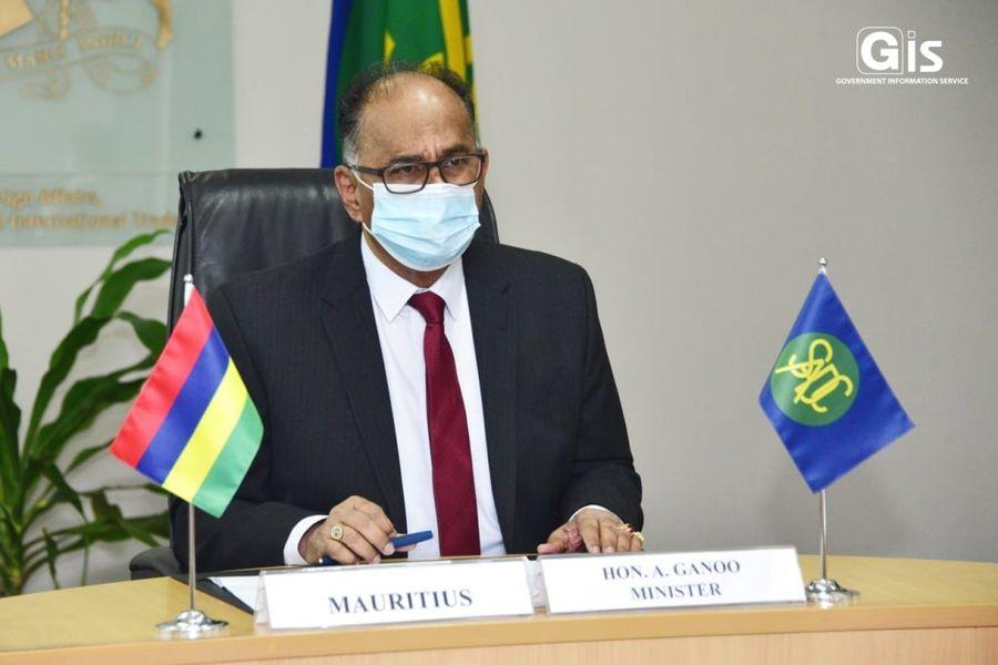 Conseil des ministres de la SADC : Alan Ganoo appelle à une distribution équitable des vaccins