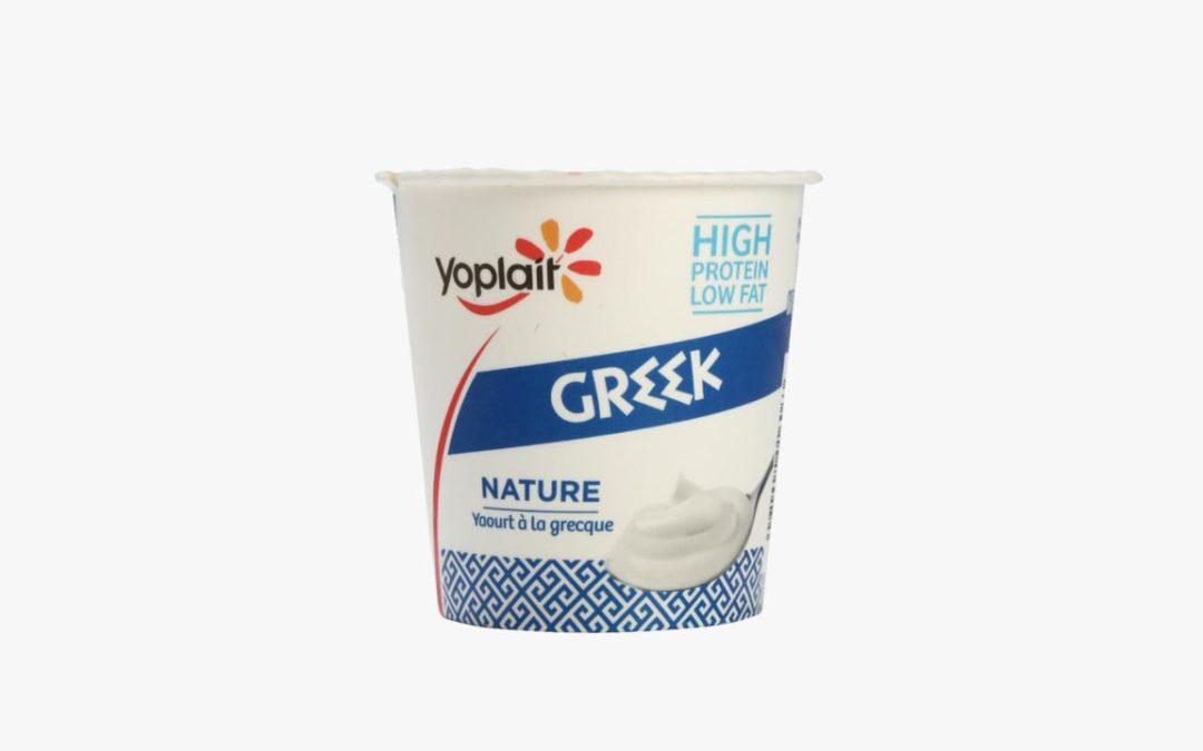 Le nouveau Yoplait à la grecque dans un emballage recyclable