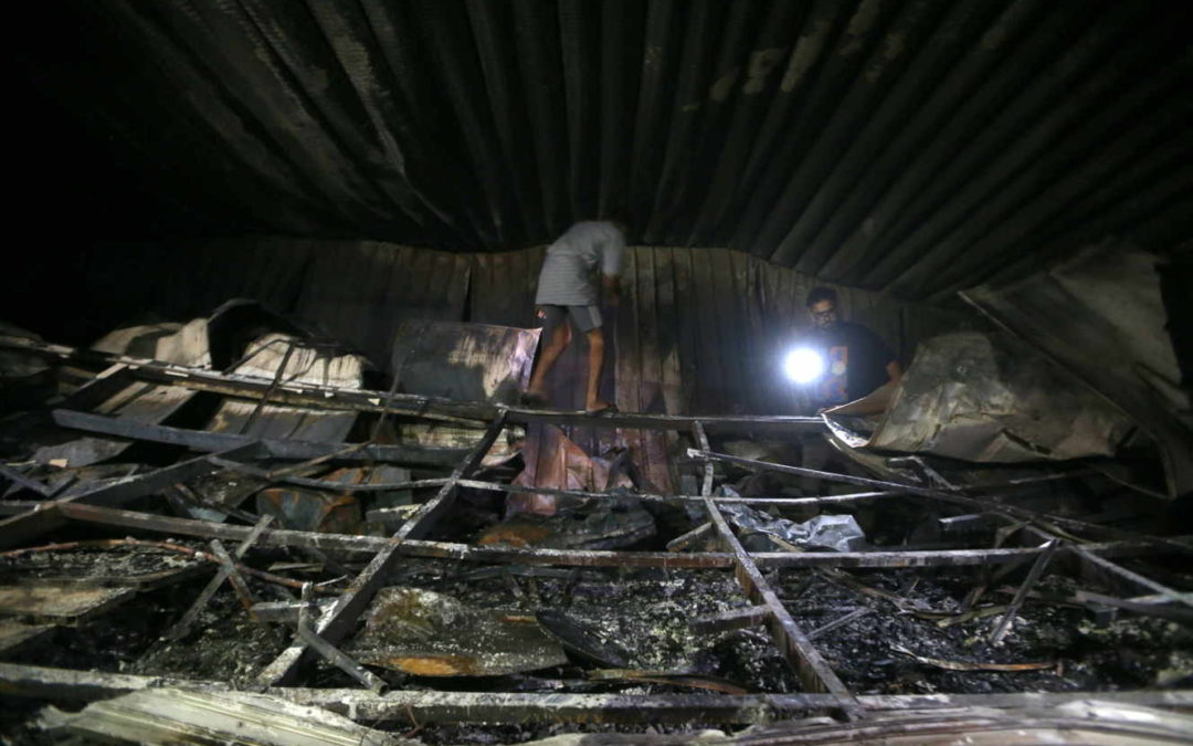 En Irak, incendie meurtrier dans un hôpital