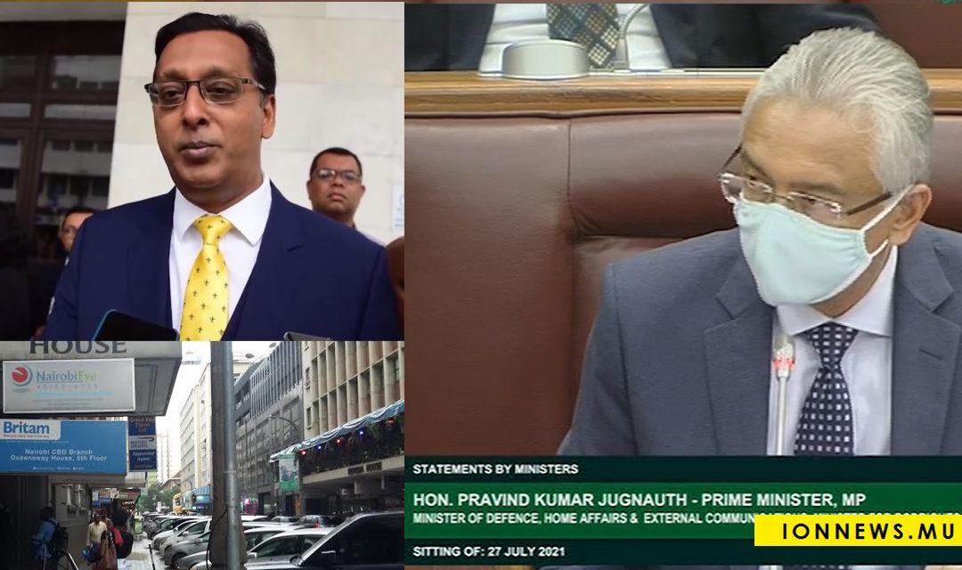Le rapport de la Commission d'enquête sur l'affaire Britam rendu public, dans son intégralité, ce mardi 27 juillet.